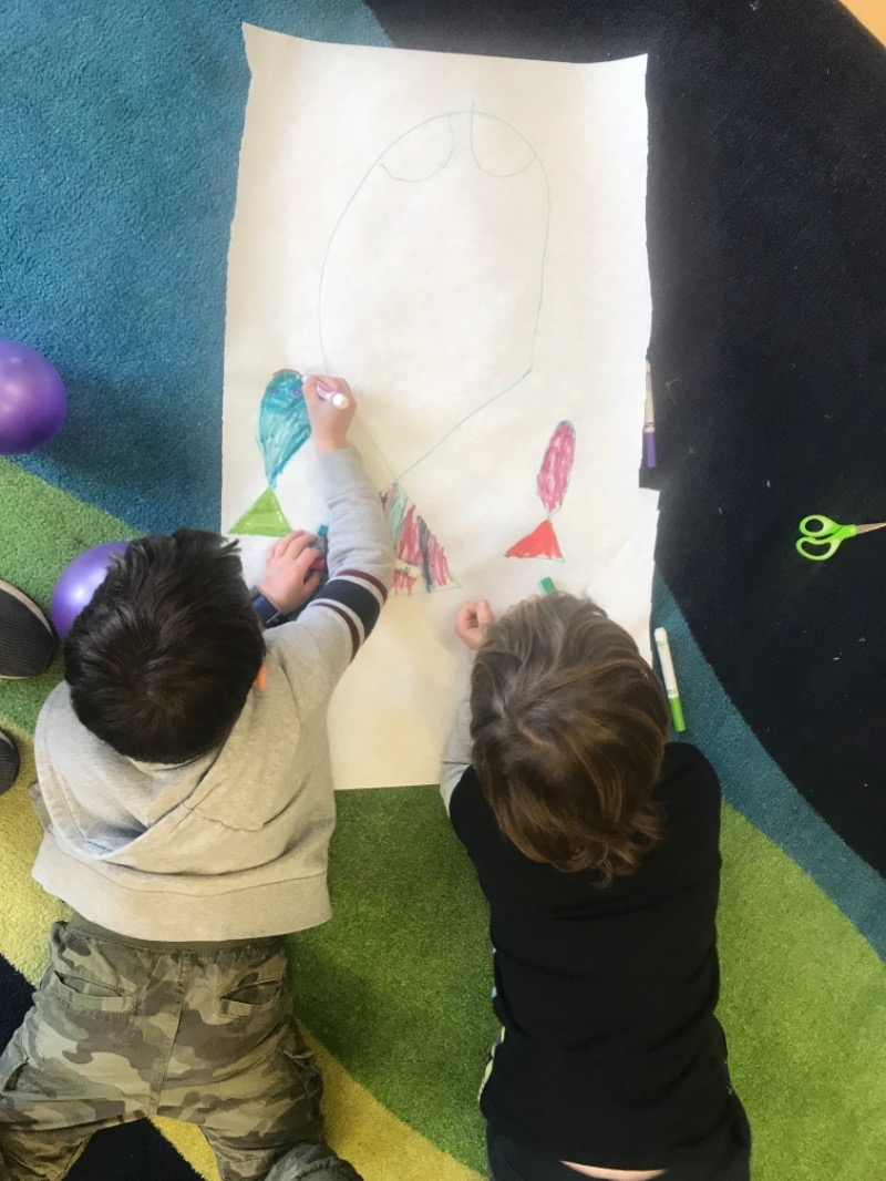 Students Rebuild Team Art
